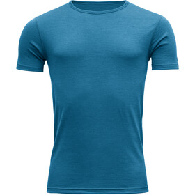 Devold Breeze T-Shirt Heren, blue melange
